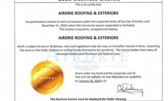 Licenses & Certificates